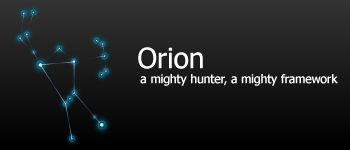 Orion Framework for WordPress