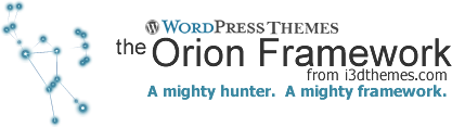 Orion WordPress Themes Framework