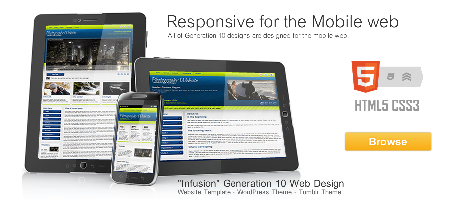 Responsive Website Templates: Premium Downloads