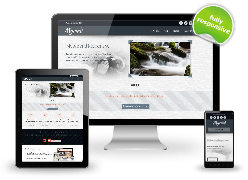 Myriad Website Template