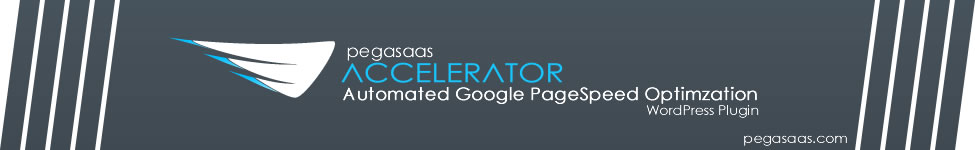 Pegasaas Accelerator: Automated Google PageSpeed Optimization