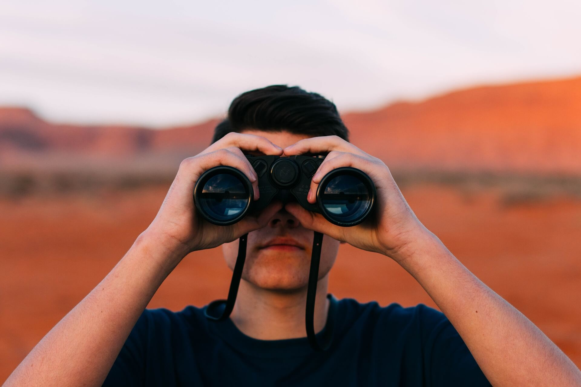 Binoculars-looking-at The Small Business Person's Website Cheat Sheet
