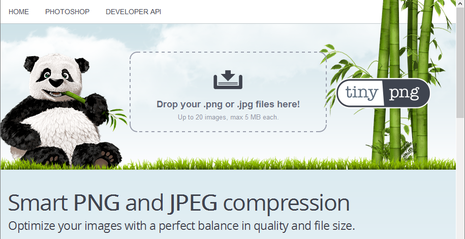 Screenshot re smart PNG and JPEG compression i3dThemes