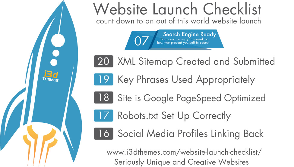 Website Launch Checklist - Search Engine Ready