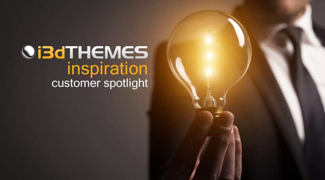 i3dthemes inspiration - customer spotlight